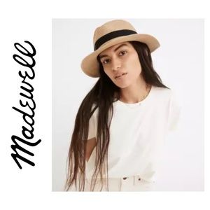 Madewell Packable Braided Straw Summer Hat S/M
